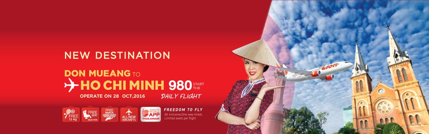 Thai Lion Air Hochiminh