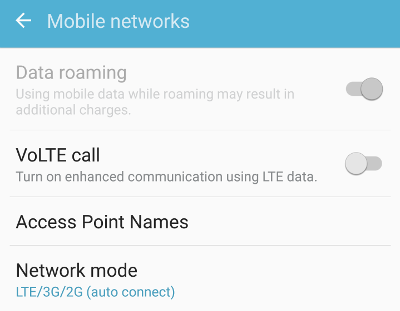 data-roaming settings android