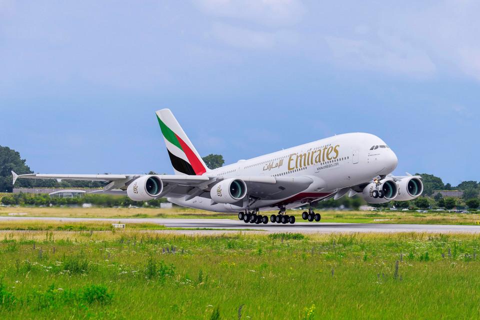 Airbus A380 ของ Emirates