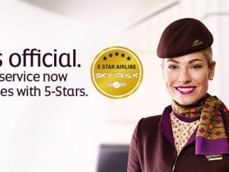 Etihad ขึ้นเป็นสายการบินระดับ 5 ดาวของ Skytrax แล้ว