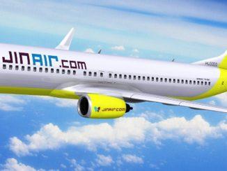 โลว์คอสต์เกาหลี Jin Air เพิ่มเที่ยวบินกรุงเทพ-อินชอน เป็น 2 ไฟลท์ต่อวัน