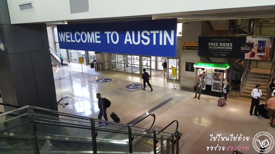 สนามบิน Austin-Bergstrom International Airport