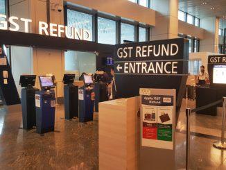 วิธีการขอคืนภาษีนักท่องเที่ยว Tax Refund ที่สนามบินสิงคโปร์