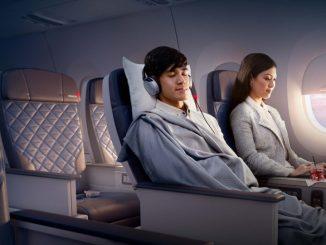 Delta เปิดตัวที่นั่งชั้น Premium Economy ในชื่อ Delta Premium