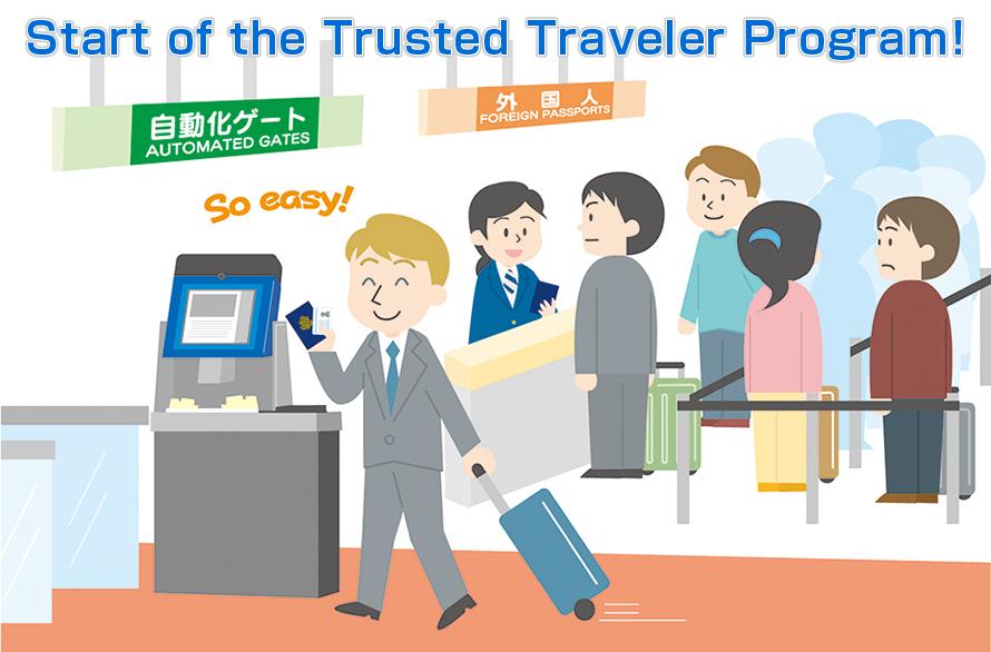 japan trusted traveler