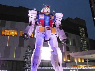 กันดั้มขนาดเท่าของจริงที่ Odaiba โตเกียว เตรียมปลดประจำการ 5 มีนาคม 2017