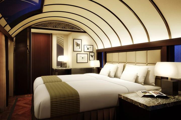 ห้องสูทสุดหรูของ Twilight Express (ห้องนอน)