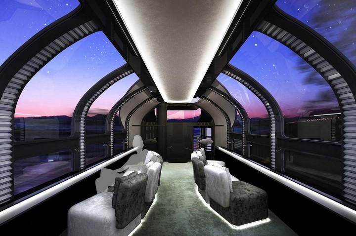 ห้องชมวิวของ Twilight Express