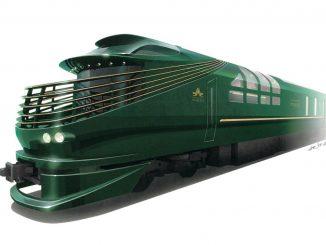 รถไฟญี่ปุ่น JR West เปิดตัวรถตู้นอนขบวนใหม่ Twilight Express สุดอลังการ
