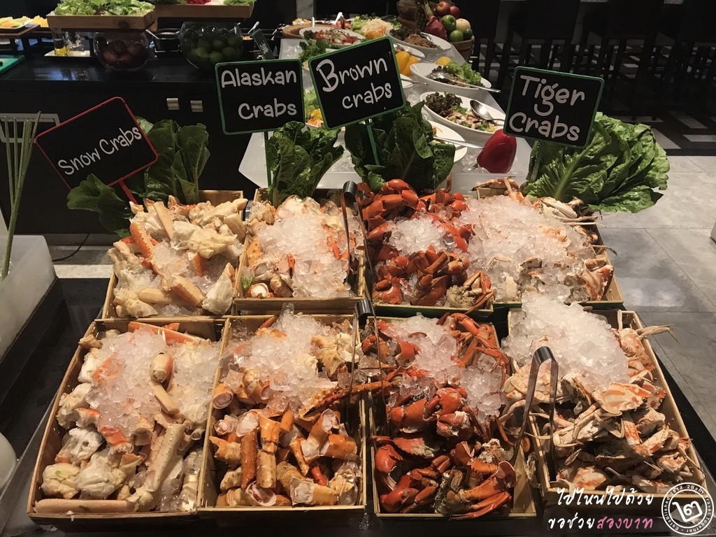 dinner buffet seafood bangkok