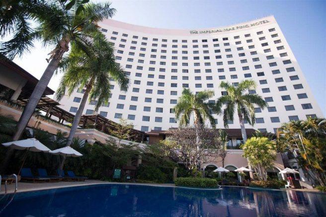 โรงแรมดิอิมพีเรียลแม่ปิง เชียงใหม่ (ภาพทางการของโรงแรม)