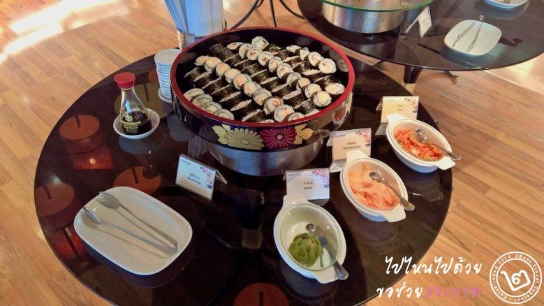อาหารญี่ปุ่น (เป็นข้าวห่อสาหร่าย)