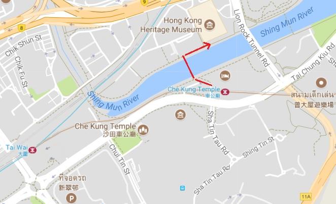 map Hongkong Heritage Museum