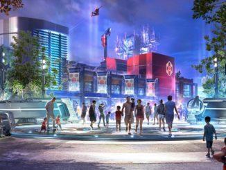 Disneyland Marvel ดิสนีย์แลนด์